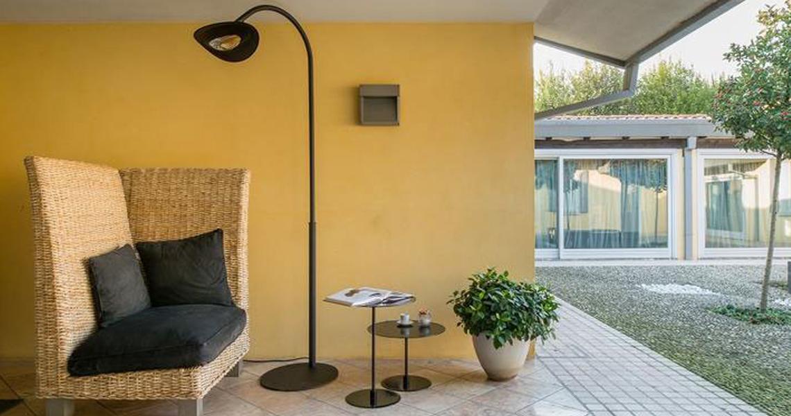 lampade riscaldanti da esterno Phormalab